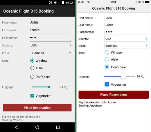 Applicazioni mobile native di Qualità