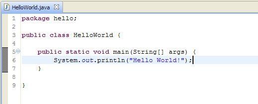 Primo esercizio pratico in Java